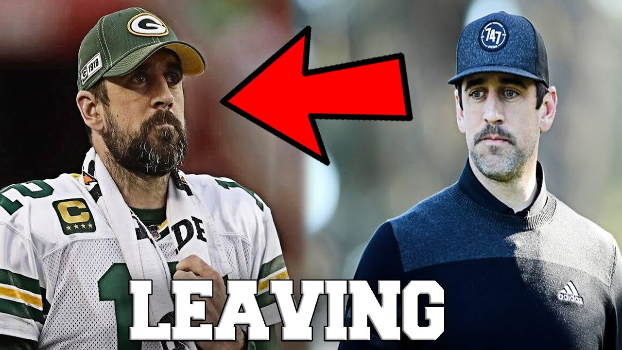 Aaron Rodgers Expects To Leave The Green Bay Packers Because of the Jordan Love NFL Draft Pick