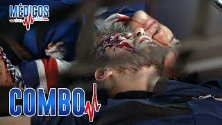 Médicos, línea de vida - C-85: David sufre un terrible accidente | Las Estrellas