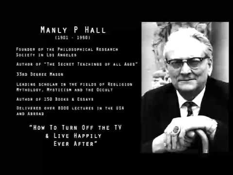 MANLY P HALL - THE IMPACT OF TELEVISION