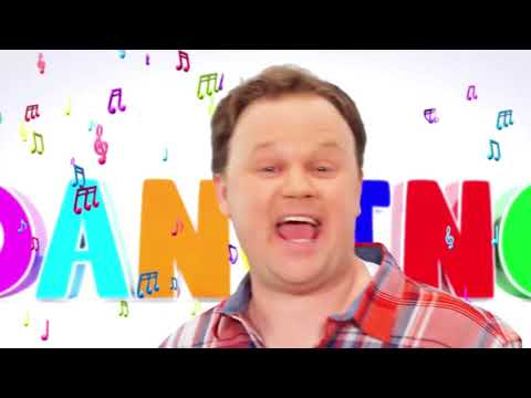 JUSTIN FLETCHER DANCING 10 MINUTE THINGY!