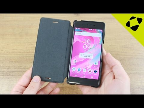 Official Sony Xperia X Style Cover Flip Case Review - Hands On