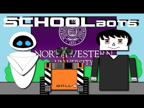 Episode 1 - SCHOOLBOTS: Wall-E Based Animated Series