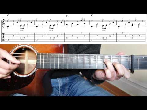 Fingerpicking Guitar Lesson: I'll Be Here In The Morning - Townes Van Zandt