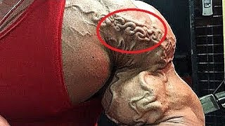 Top 4 - Bodybuilders Took Vascularity To a DANGER LEVEL !!