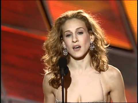 Sarah Jessica Parker Wins Best Actress TV Series Musical or Comedy - Golden Globes 2000