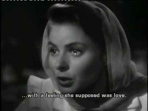 Casablanca - the must watch scene