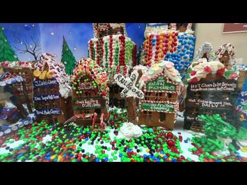GingerBread Lane World's largest gingerbread village in New York