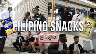 Foreign Students Try FILIPINO SNACKS! | KDFilmz