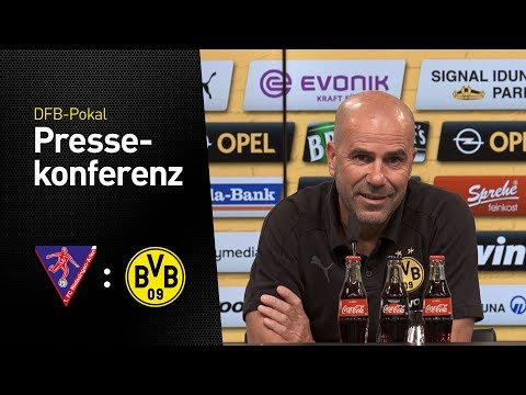 Pressekonferenz vor Pokalauftakt | 1. FC Rielasingen-Arlen - BVB