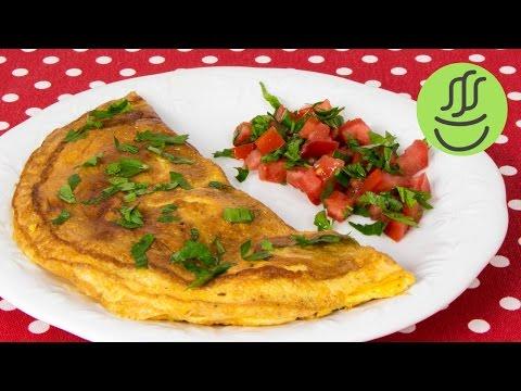 Kızartma tavasında omlet nasıl pişirilir