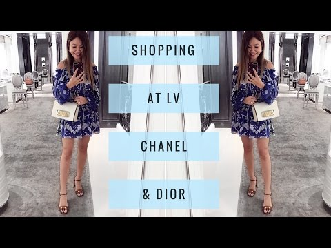 LUX SHOPPING VLOG IN SYDNEY! | Louis Vuitton, Chanel & Dior - Part 1| Mel in Melbourne