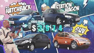 Car prices have gotten scary! 2 Cheap Cars Price Busters Sale!