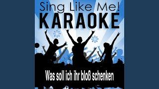 Was soll ich ihr bloß schenken (Karaoke Version With Guide Melody)