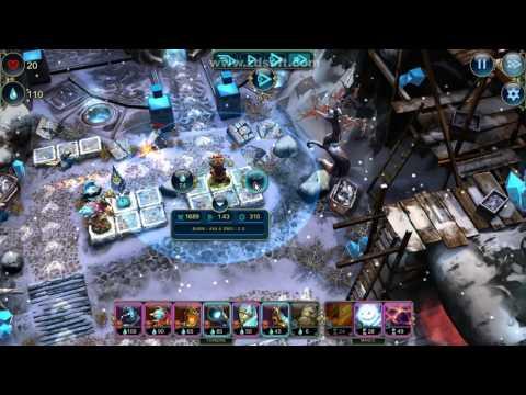 Prime World Defenders: Hero mode - game play |