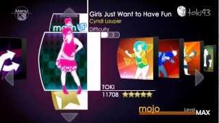 Just Dance 1 Menu