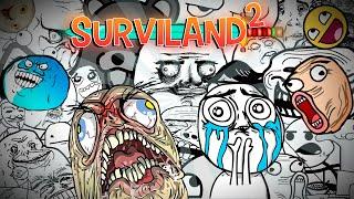 suelo troll hace llorar a miembro jaja   surviland 2 ep 228 minecraft 1 9 serie troll