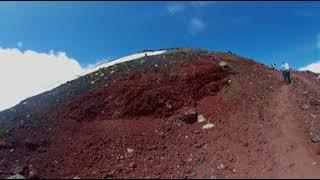 Дмитрий Комаров показал панораму 360° с горы Фудзияма