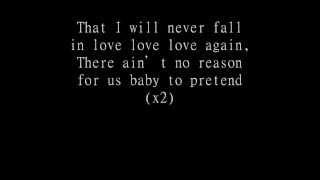 The End ~ Reckless - lyrics