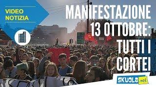 13 ottobre: la manifestazione contro l'alternanza