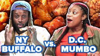 New York Vs. Washington D.C.: Who Has The Best Wings? Video