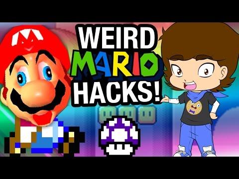 WEIRD Mario HACKS and Fan Games! - ConnerTheWaffle