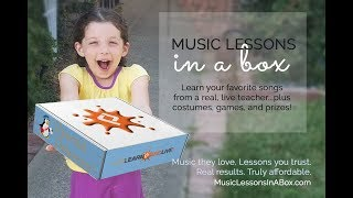 Music Lessons In A Box - Subscription Kit + Online Piano Lessons