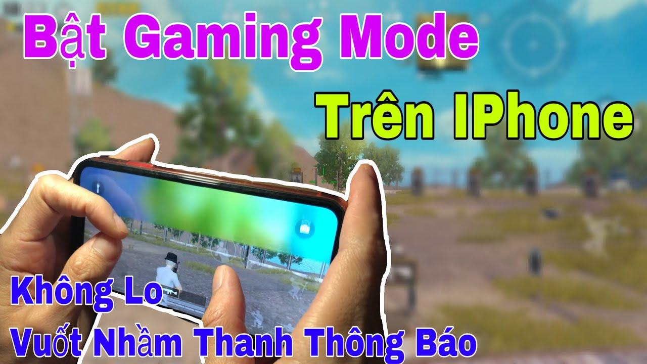 Mẹo Bật Chức Năng Gaming Trên IOS, Mẹo Tắt Thanh Thông Báo Khi Chơi Game Trên Iphone - PUBG mobile.