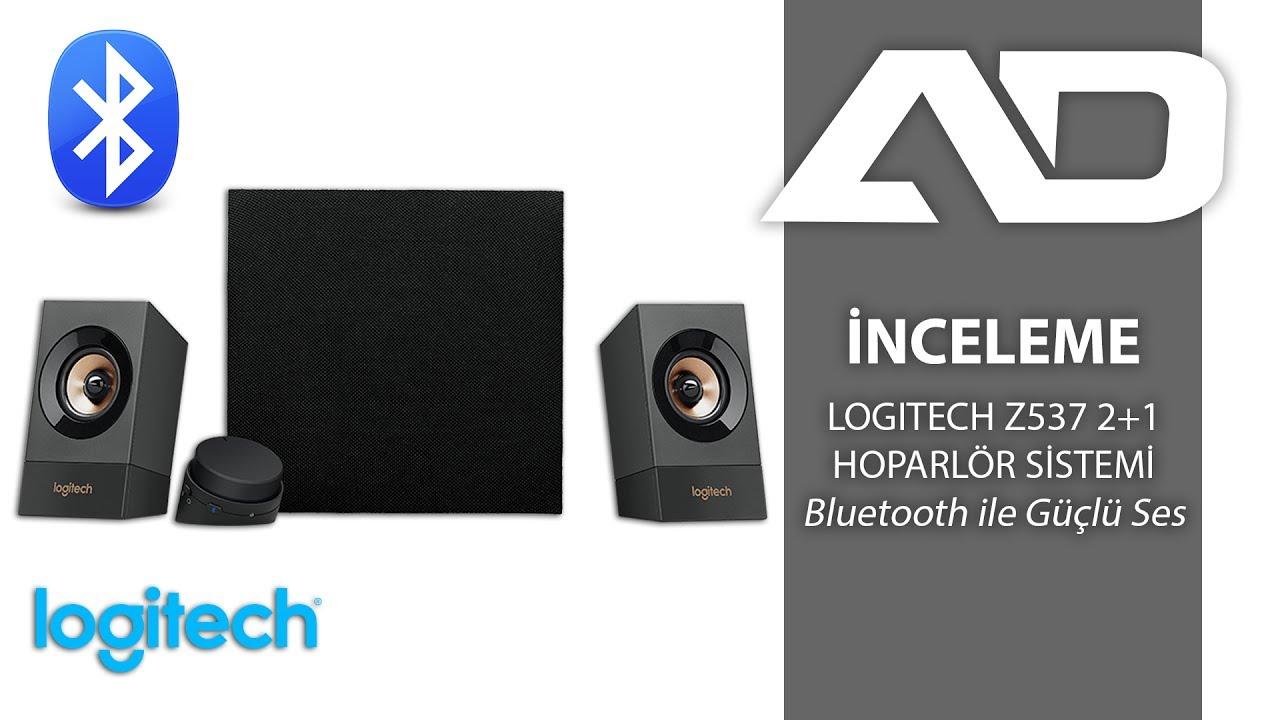 logitech z537 2 1 bluetooth hoparlör sistemi İncelemesi youtube