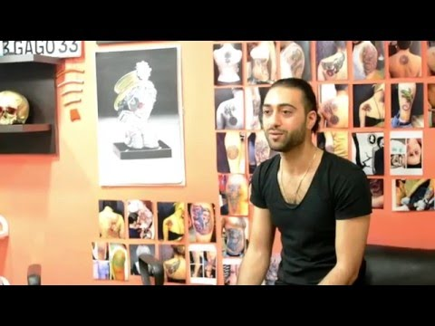 Armenian tattoo artist Gagik Mkrtchyan