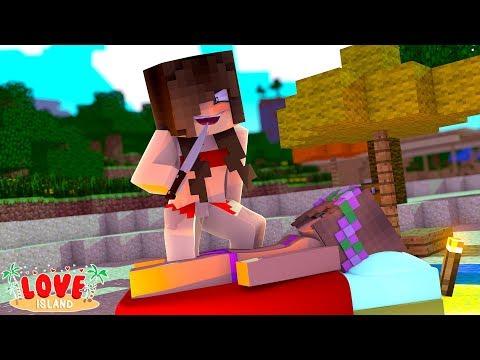 NEW GIRL TRIES TO KILL LITTLE KELLY? | Minecraft Love Island