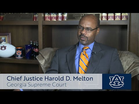 Auburn University unveils Student Center naming in honor of Georgia Supreme Court Chief Justice Harold D. Melton