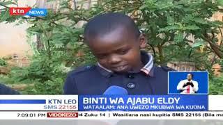 Mwanafuzi wa Darasa la tatu ambaye anaweza kutambua rangi akiwa amefungwa macho