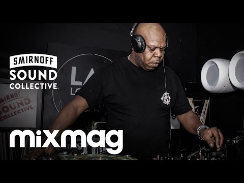 DJ RANDALL history of jungle set in The Lab LDN