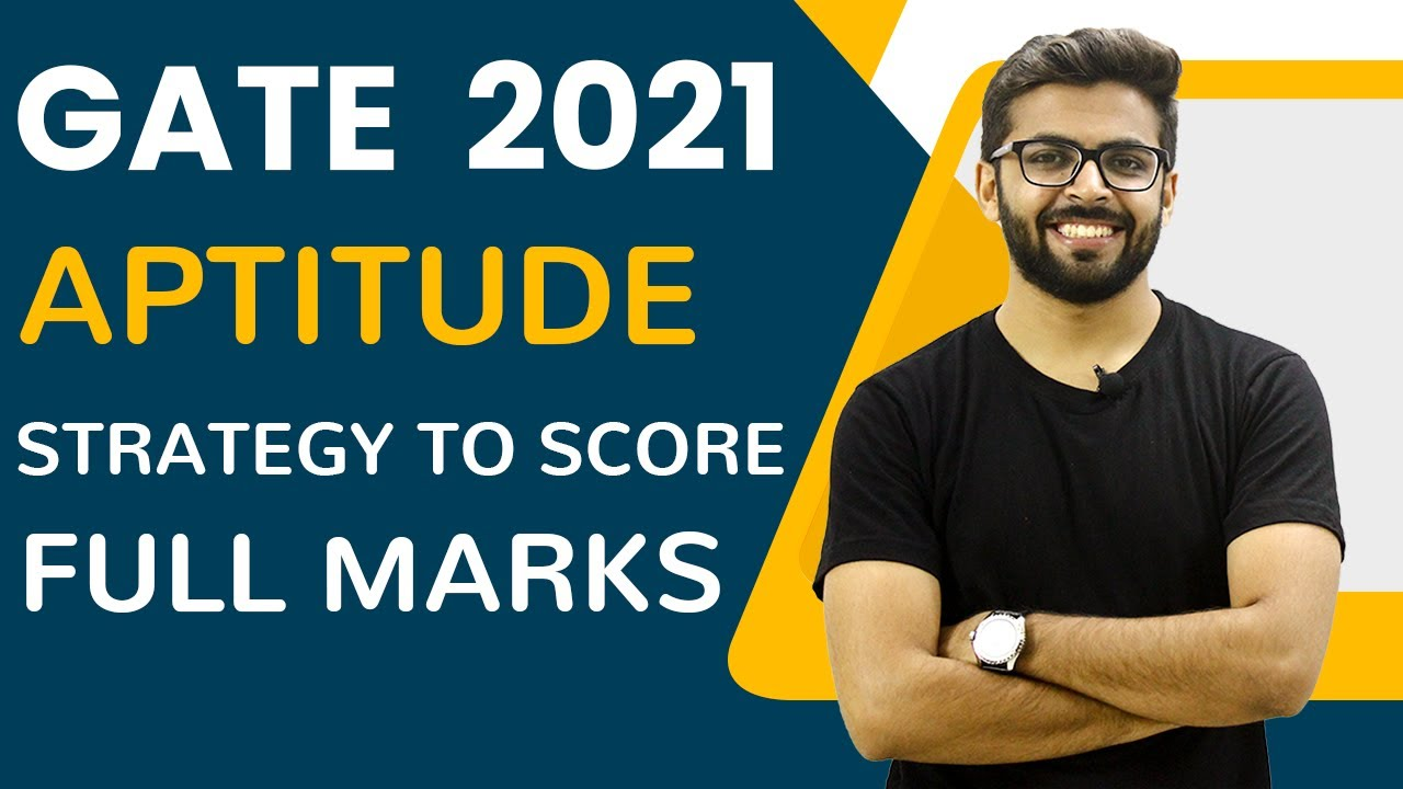 GATE 2021 | Aptitude | Strategy to Score Full Marks