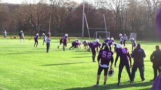 Durham Saints Vs. Loughborough University (4 Feb 2018) (American football)