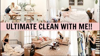 ULTIMATE CLEAN WITH ME 2019 // COMPLETE DISASTER CLEANING MOTIVATION!! // Amy Darley