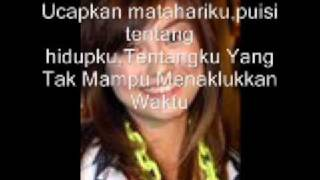 Matahariku-Agnes Monica with Lyrics