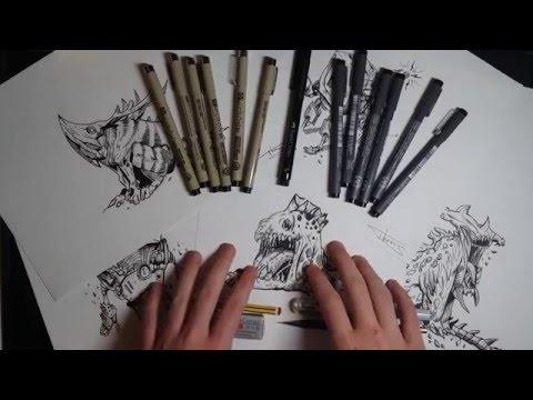 [TUTO] Technique Artistique | Dessin en hachures
