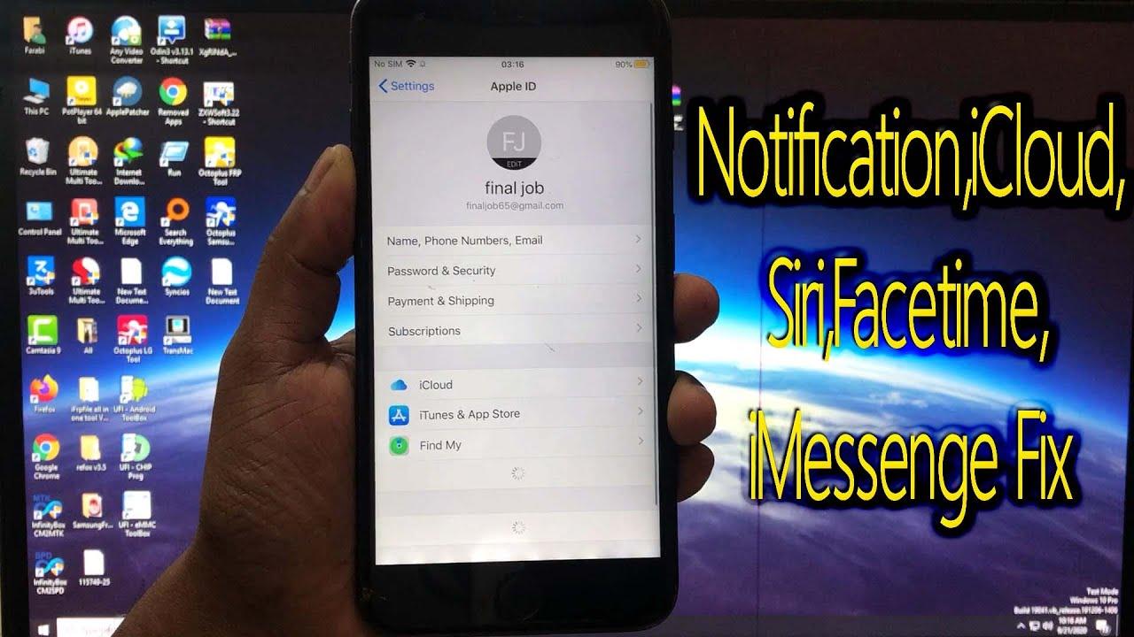 iBypasser Amazing Tool Bypass iCloud,FMI OFF IOS-13,Notification,iCloud,Siri,Facetime,iMessenge Fix