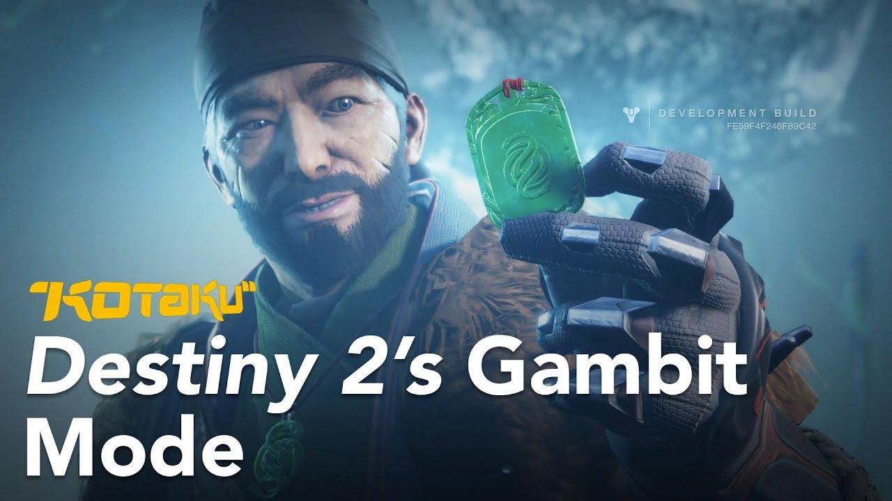Destiny 2's Gambit Mode, E3 2018