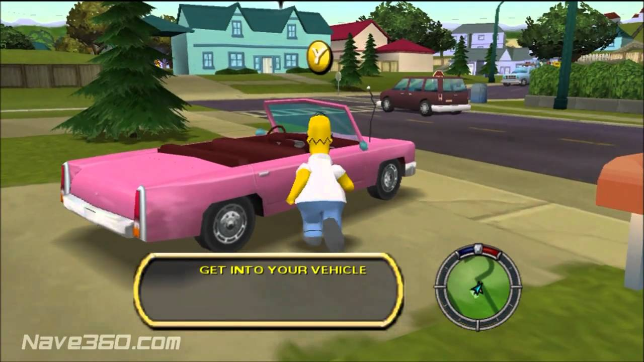 Let S Re Play The Simpsons Hit And Run Xbox Part 1 Easy Tutorials Youtube