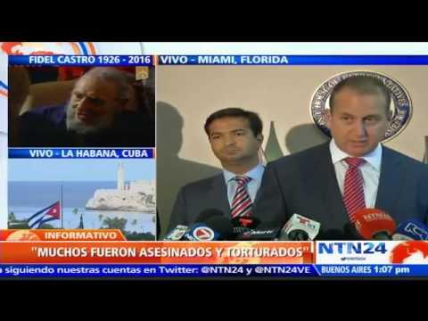 Congresistas en Miami afirman que muerte de Fidel Castro abre nueva etapa para la libertad de Cuba