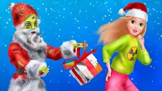 인형 놀이는 영원히! 9가지 바비와 좀비 크리스마스 만…