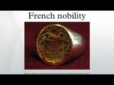French nobility