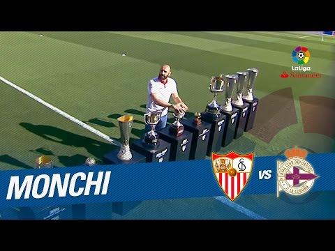 Homenaje a Monchi en el Sánchez-Pizjuán