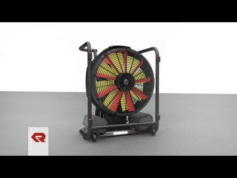 FANERGY B16 - Battery-powered high-performance fan from Rosenbauer