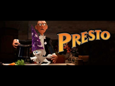 Pixar Short Films 15 Presto 2008