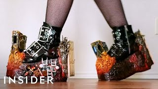 Horror-Themed Shoes Are Inspired By 'Poltergeist'