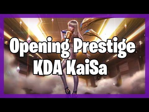 ✅ACCIDENTLY DROP K/DA KAI'SA PRESTIGE EDITION FROM SECOND DROP HEXTECH CHEST