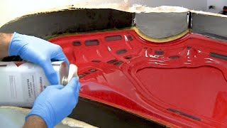 How to Make a Carbon Fiber Car Bonnet/Hood - Part 1/3